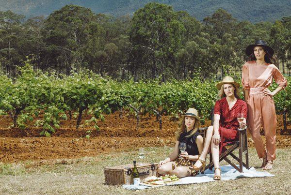 Ín the Vineyard- Tyrrell's Photoshoot